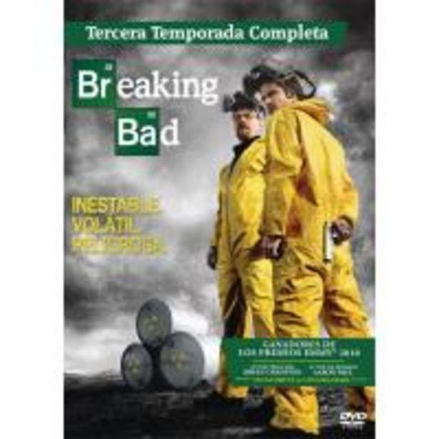 Oferta de Breaking Bad  Temporada 3 - DVD por 10€