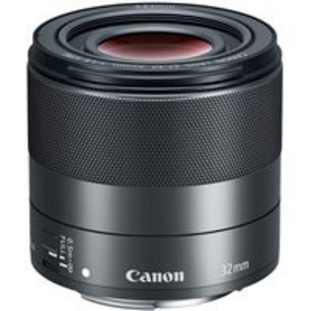 Oferta de Objetivo Canon EF-M 32mm f/1.4 STM por 469,99€
