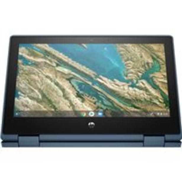 Oferta de Convertible 2 en 1 HP Chromebook x360 11 G3 EE 11,6'' Azul por 365,42€