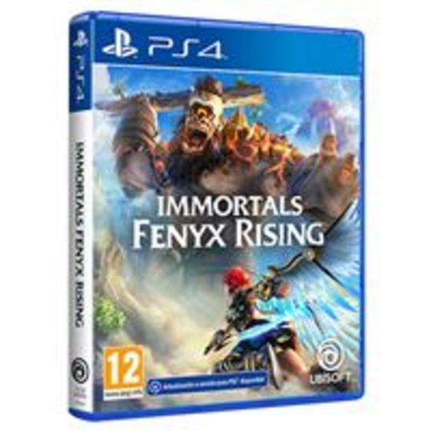 Oferta de Immortals Fenyx Rising PS4 por 22,99€