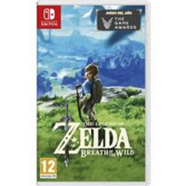 Oferta de The Legend of Zelda Breath of the Wild - Nintendo Switch por 59,99€