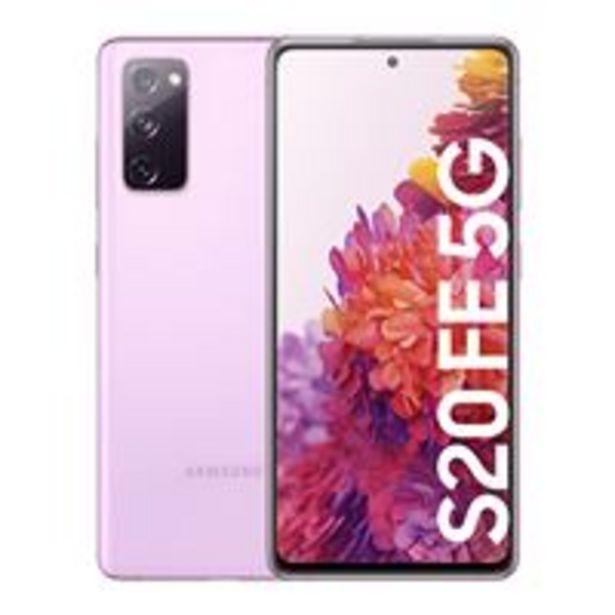 Oferta de Samsung Galaxy S20 FE 5G 6,5'' 128GB Violeta por 474,19€