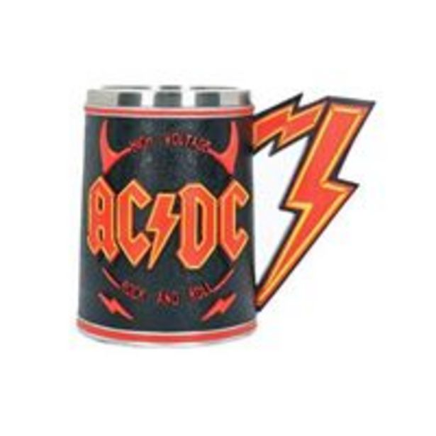 Oferta de Jarra de cerveza AC/DC 600 ml por 20€