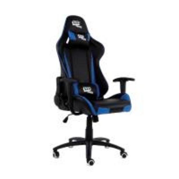 Oferta de Silla Gaming 1337 Industries GC757SP Negro / Azul por 135,99€