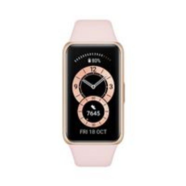 Oferta de Smartband Huawei Band 6 Rosa por 48,76€