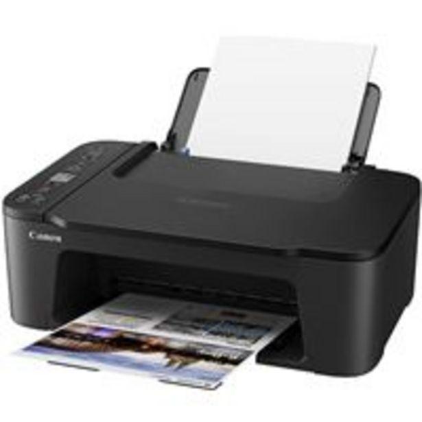 Oferta de Impresora multifunción Canon Pixma TS3450 Negro por 49,99€