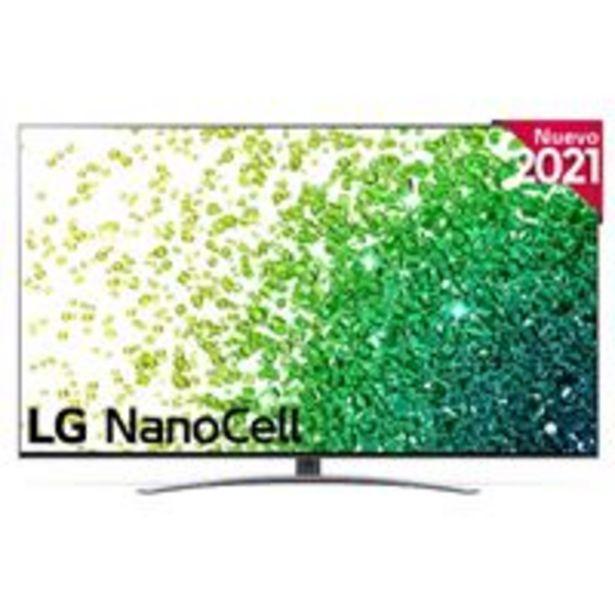Oferta de TV LED 50'' LG NanoCell 50NANO886PB 4K UHD HDR Smart TV por 779€