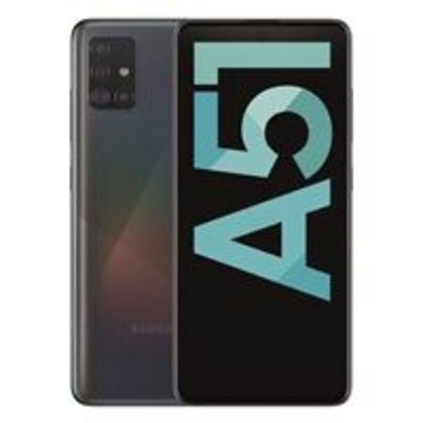 Oferta de Samsung Galaxy A51 6,5'' 128GB Negro por 219€
