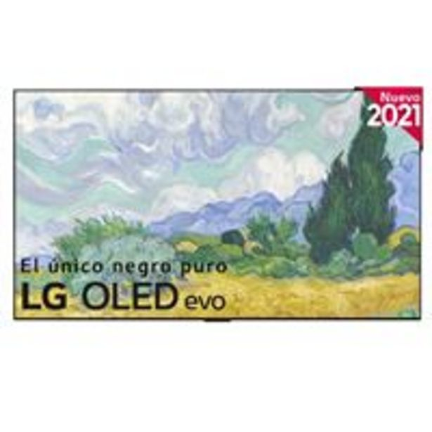 Oferta de TV OLED 65'' LG OLED65G16LA 4K UHD HDR Smart TV Plata por 2499€