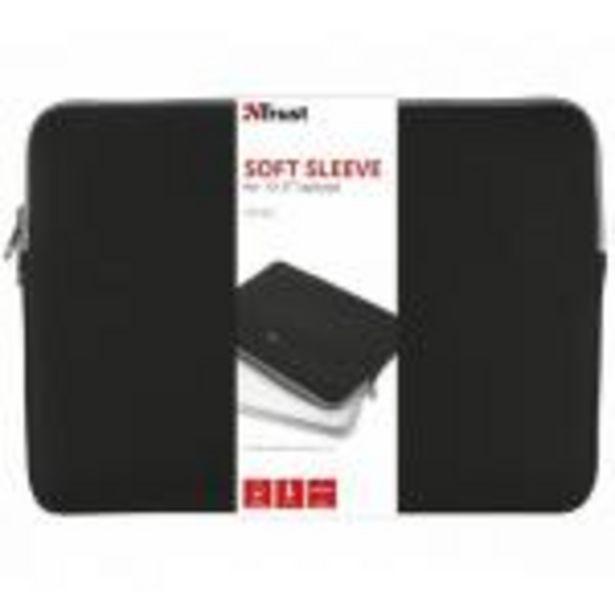 Oferta de Funda Trust Primo Sleeve - Para Portatiles Hasta 13.3/33.7cm - Neopreno Viscoelastico - Diseño Delg por 12,99€