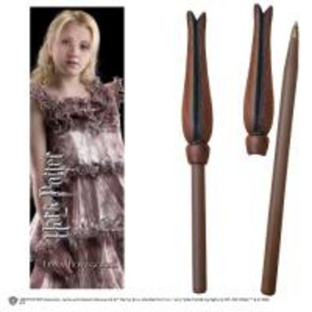 Oferta de Varita bolígrafo y marcapáginas Harry Potter - Luna Lovegood por 5€