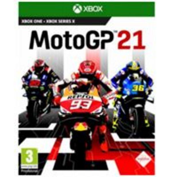 Oferta de MotoGP 21 Xbox Series X / Xbox One por 34,99€