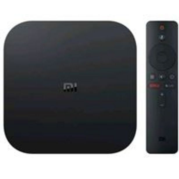 Oferta de Reproductor multimedia Xiaomi Mi TV Box S 4K HDR por 59,9€