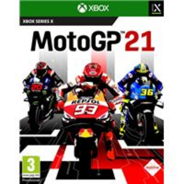 Oferta de MotoGP 21 Xbox Series por 34,99€