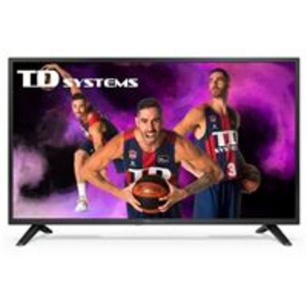 Oferta de TV DLED 40'' TD Systems K40DLJ12F Full HD por 199,9€