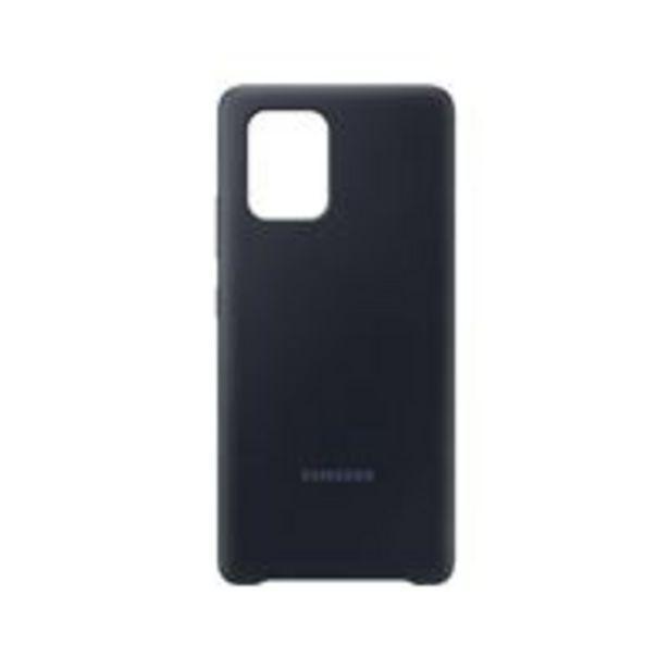 Oferta de Funda de silicona Samsung Negro para Galaxy S10 Lite por 15,99€