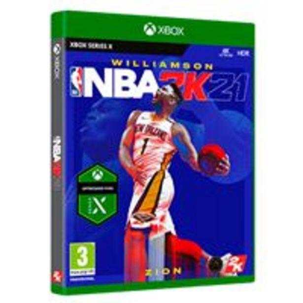 Oferta de NBA 2K21 Xbox Series X por 17,99€