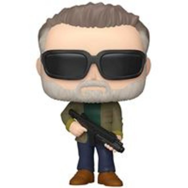 Oferta de Figura Funko Terminator Destino Oscuro - T-800 envejecido por 10€