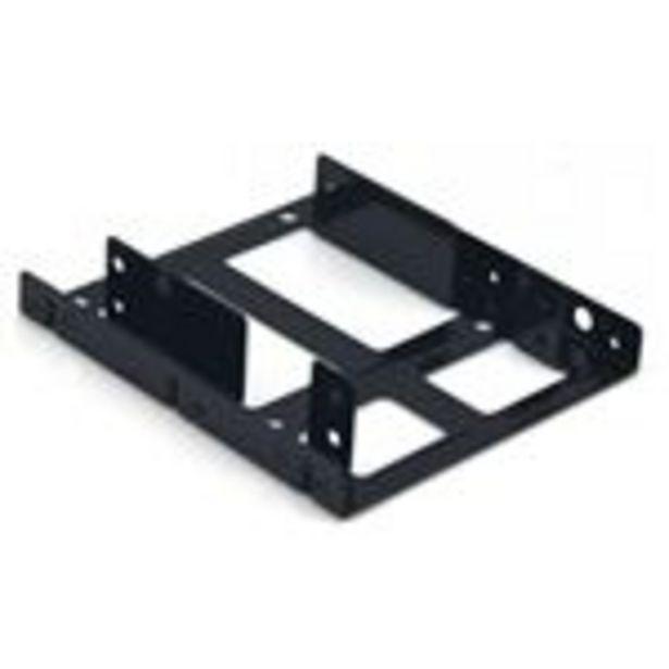 """Oferta de Adaptador interno bahía de 3,5"""""""" a 2x2'5"""""""" (SSD) Metal CoolBox por 8,87€"""
