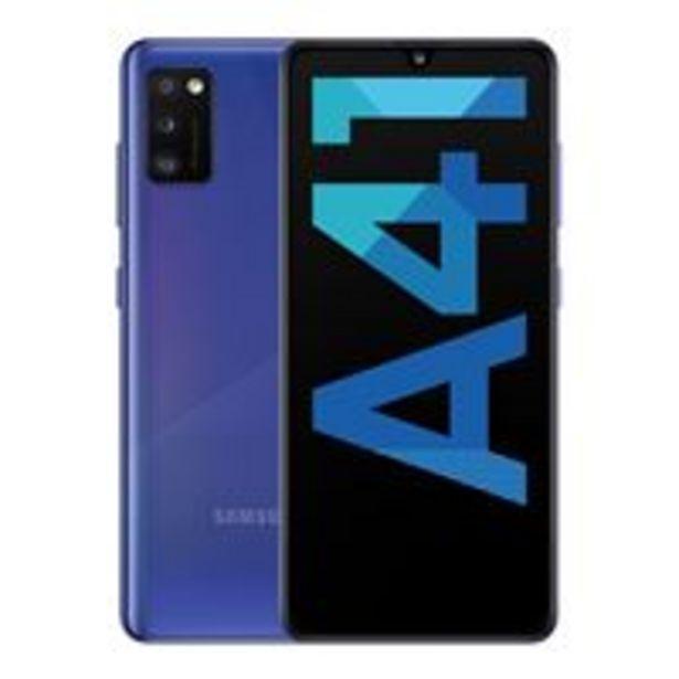Oferta de Samsung Galaxy A41 6,1'' 64GB Azul por 229€