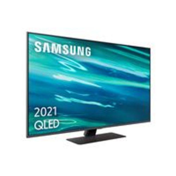 Oferta de TV QLED 50'' Samsung QE50Q80A 4K UHD HDR Smart TV por 999,9€