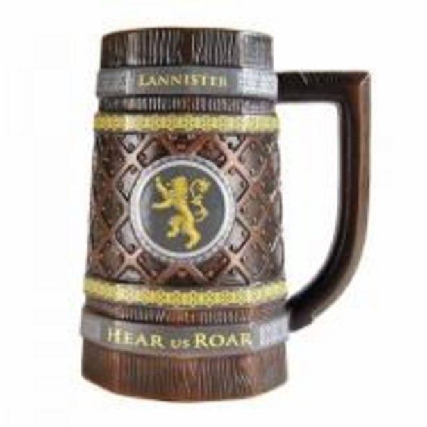 Oferta de Jarra de cerveza Game of Thrones Casa Lannister por 5€