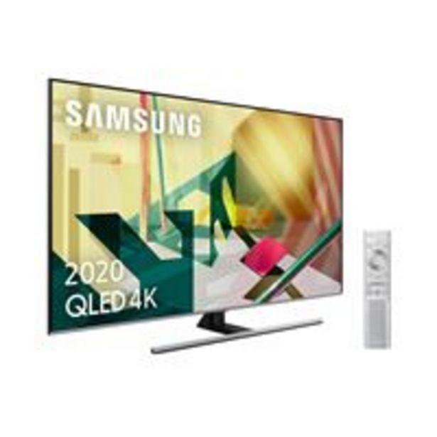 Oferta de TV QLED 65'' Samsung QE65Q75T 4K UHD HDR Smart TV por 1039,94€