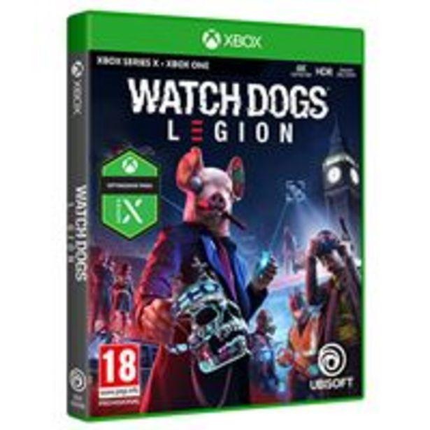Oferta de Watch Dogs Legion Xbox Series X / Xbox One por 34,99€
