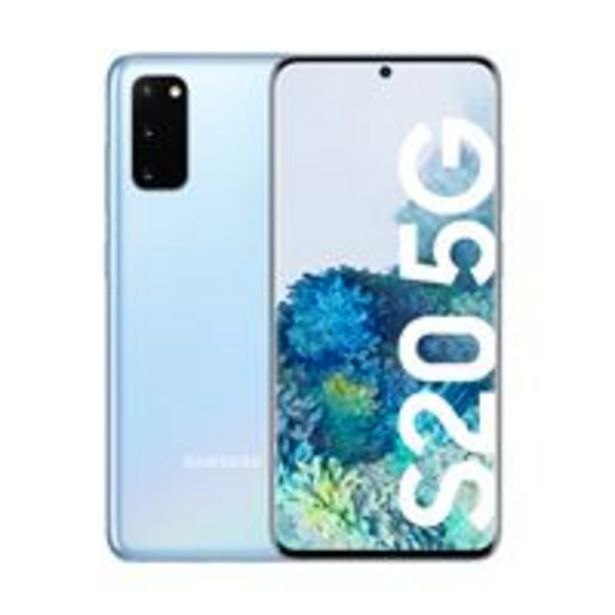 Oferta de Samsung Galaxy S20 6,2'' 128GB 5G Azul por 799,9€