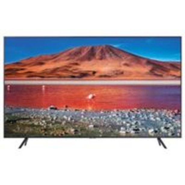 Oferta de TV LED 75'' Samsung UE75TU7105 4K UHD HDR Smart TV por 848€