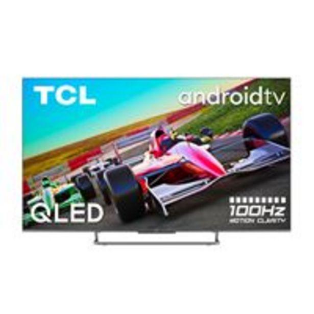 Oferta de TV QLED 65'' TCL 65C728 4K UHD HDR Smart TV por 979,9€