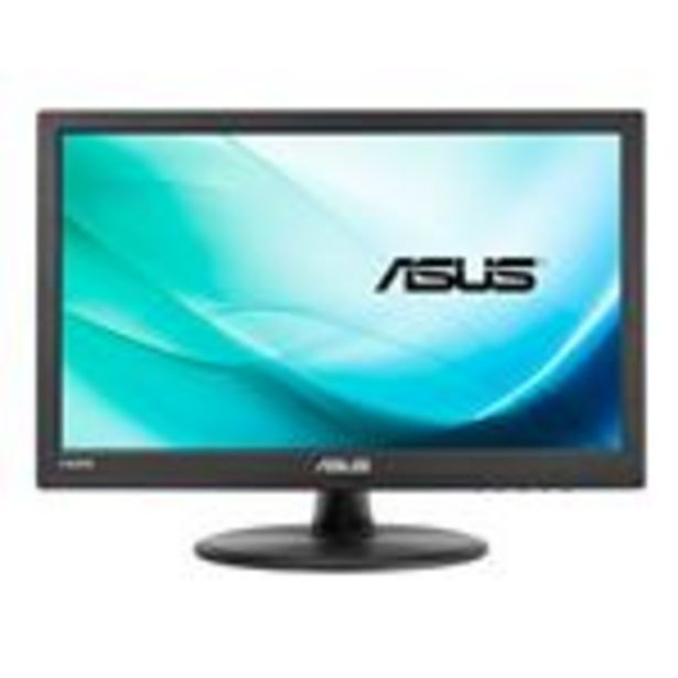 "Oferta de Monitor Pantalla Táctil Asus Vt168h 15.6"""" 1366 x 768pixeles Multi-touch Mesa Negro - Pantalla Smart Display por 167,99€"
