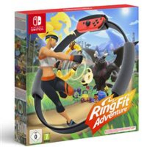 Oferta de Ring Fit Adventure Nintendo Switch por 64,99€