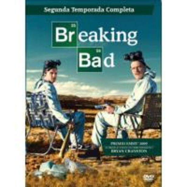 Oferta de Breaking Bad  Temporada 2 - DVD por 10€