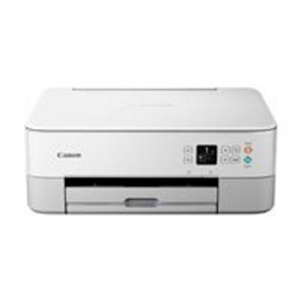 Oferta de Impresora multifunción Canon Pixma TS5351 Blanco por 69€