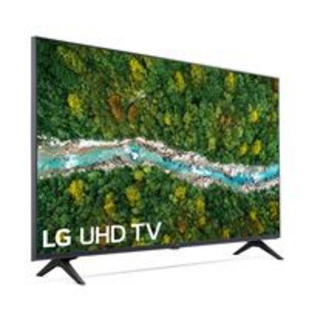 Oferta de TV LED 43'' LG 43UP77006LB 4K UHD HDR Smart TV Gris por 399€