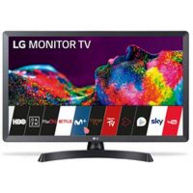 Oferta de TV LED 28'' LG 28TN515S-PZ HD Smart TV por 199,9€