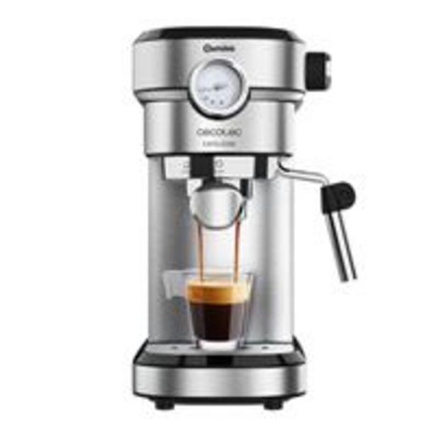 Oferta de Cafetera Expresso Cecotec Cafelizzia 790 Steel Pro por 89,77€