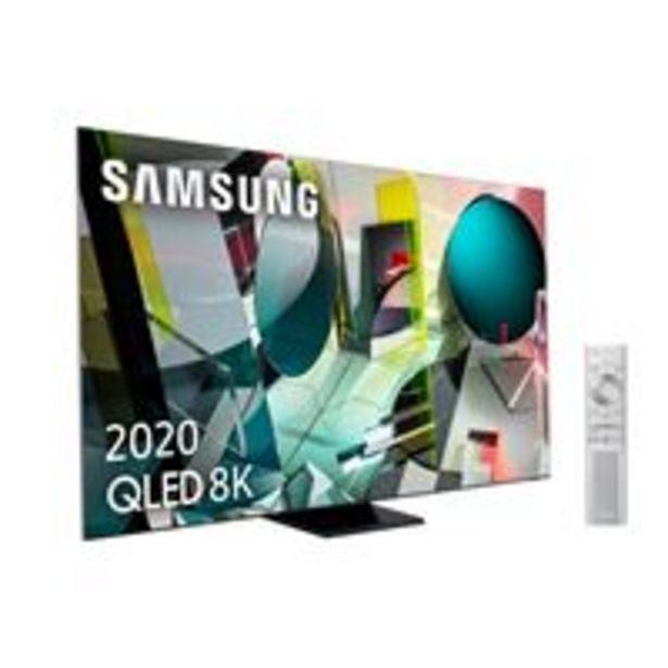 Oferta de TV QLED 65'' Samsung QE65Q950T 8K UHD HDR Smart TV por 3299,9€