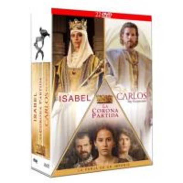 Oferta de Pack Isabel + Carlos + La corona - DVD por 42,5€