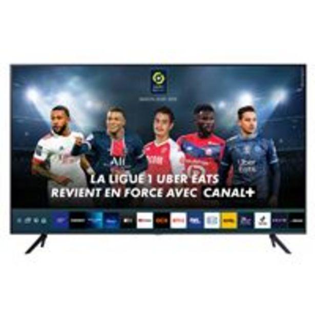 Oferta de TV LED 55'' Samsung 55AU7105 Crystal 4K UHD HDR Smart TV por 655,92€