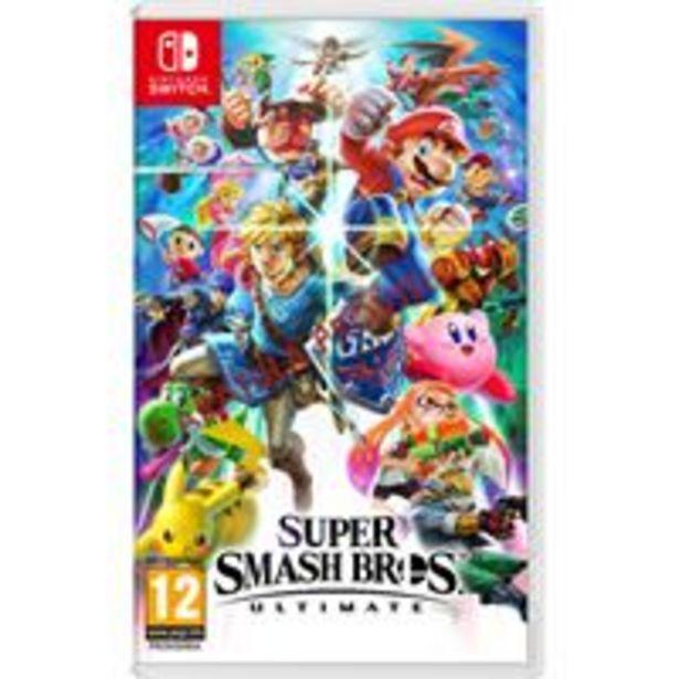 Oferta de Super Smash Bros Ultimate Nintendo Switch por 56,99€