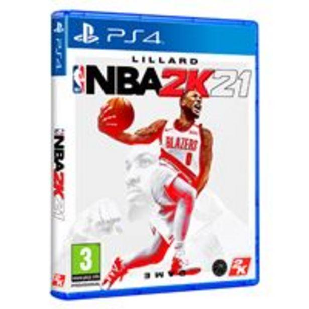 Oferta de NBA 2K21 PS4 por 29,99€