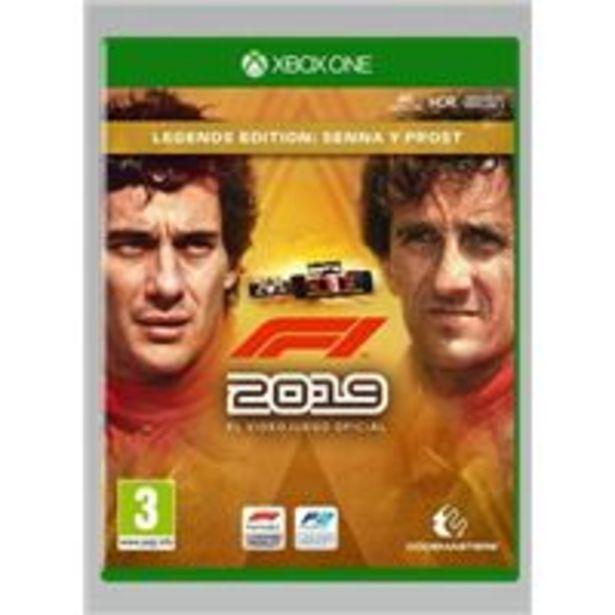 Oferta de F1 2019 Legends Edition - Xbox One por 23,7€
