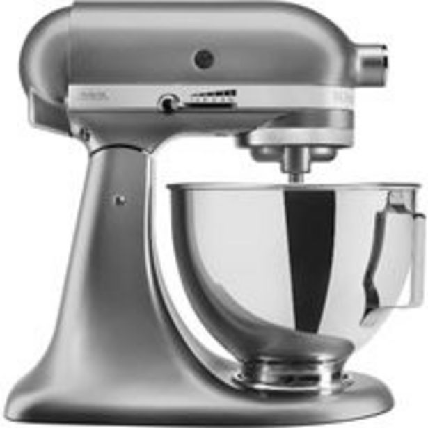 Oferta de Robot de cocina Kitchenaid 5KSM95PS Gris por 379,9€