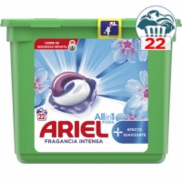 Oferta de Ariel Detergente All in 1 Efecto Suavizante Fragancia Intensa por 7,49€