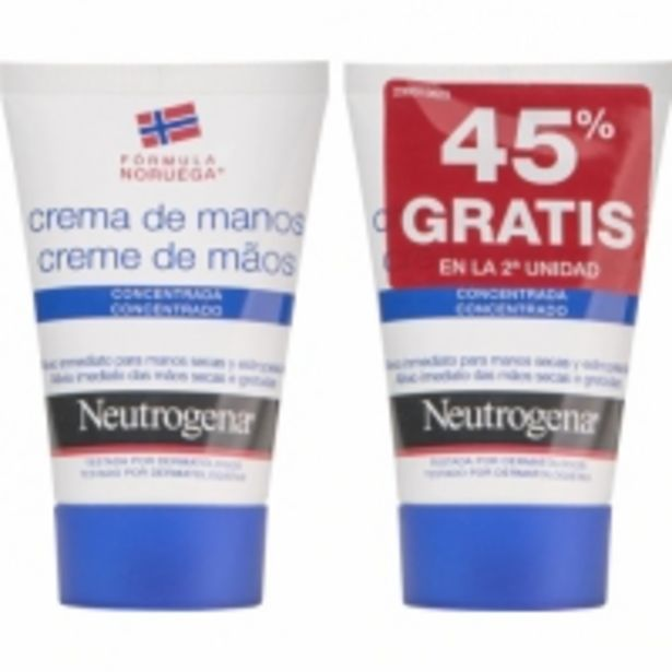 Oferta de Neutrogena Duplo Crema de Manos Concentrada por 9,49€