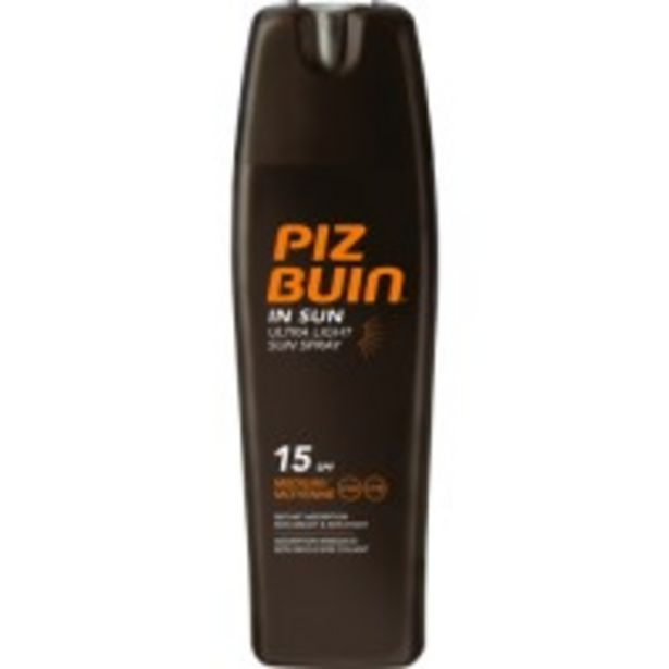 Oferta de In Sun Ultralight Sun Spray Spf15 por 13,49€
