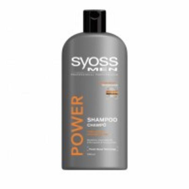 Oferta de Sysos Champú Men Power por 3,09€
