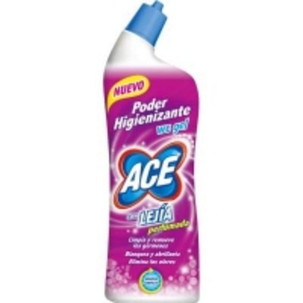Oferta de Desinfectante WC Gel con Lejía Perfumada por 1,49€